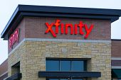 Xfinity Retail Store Exterior And Sign