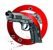 Handgun Beretta Elite Bloody Stop