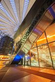 Sony Center on Potsdamer Platz at night