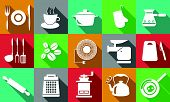 Cooking Icons White