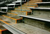 Bleachers and Stairs