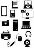 Icons Equipment Black