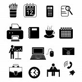 Office Icons Black