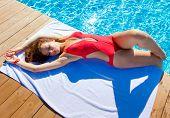 Pool Babe Beauty