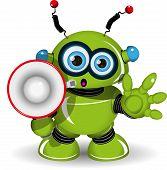 Robot And Speaker