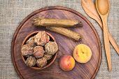 Bolivian Dried Peach Called Quisa