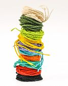 Colorful Rope  Made From Mulberry Paper