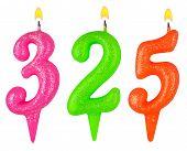 Candles Number Three Hundred Twenty Five