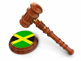 picture of jamaican flag  - Rubber Stamp Jamaican flag - JPG