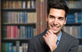stock photo of lawyer  -  Confident lawyer portrait - JPG