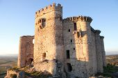 picture of ceres  - Ancient castle in ruins located in the north of C - JPG
