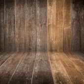 stock photo of timber  - timber wood Industrial brown wood plank texture background - JPG