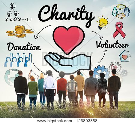 Charity Donate Welfare Generosity Charitable Giving ...