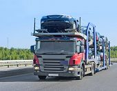foto of car carrier  - cars - JPG