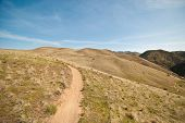 picture of boise  - The idaho foothills outside of Boise - JPG