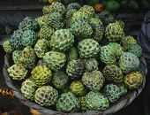 Basket Of Custard Apples