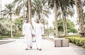 Arabian Men In The Emirates poster