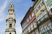Clerigos Tower In Porto  Portugal