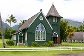 Old church in Hanalei