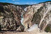 Grand Canyon Of The Yellowstone, Wy