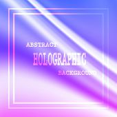 Colored Hologram Vector Background For Sticker. Hologram Pattern Color Tone And Bright Rainbow Shiny poster
