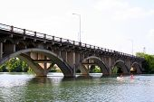 picture of lamar  - A nice old bridge in downtown Austin - JPG
