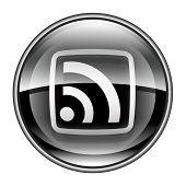 Wi-fi Icon Black, Isolated On White Background