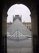 Louvre Archway France