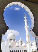 Heikh Zayed Mosque In Abu Dhabi,