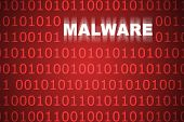 Malware Abstract Background