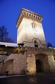 Florian Gate In Krakow