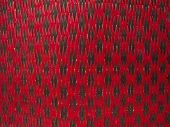 Texture Of Red And Black Mat