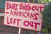 Bank bail-out Protest anmelden