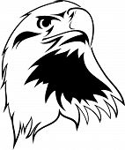 stylized image of an eagle