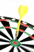 Dart In A Dartboard