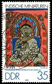 Vintage Postage Stamp. Mahavira.