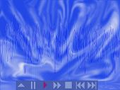 Abstract Musical Background Blue