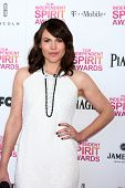 LOS ANGELES - FEB 23:  Clea Duvall attends the 2013 Film Independent Spirit Awards at the Tent on th