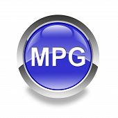 Icono brillante MPG