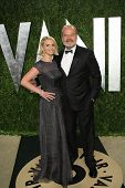 WEST HOLLYWOOD, CA - FEB 24: Kelsey Grammer, Kayte Walsh at the Vanity Fair Oscar Party at Sunset To