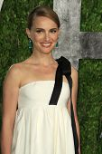 WEST HOLLYWOOD, CA - FEB 24: Natalie Portman at the Vanity Fair Oscar Party at Sunset Tower on Febru