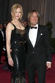 LOS ANGELES - FEB 24:  Nicole Kidman, Keith Urban arrives at the 85th Academy Awards presenting the