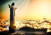 stock photo of salvation  - Famous statue of the Christ the Reedemer - JPG