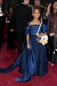 LOS ANGELES - FEB 24:  Quvenzhane Wallis arrives at the 85th Academy Awards presenting the Oscars at