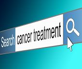 Cancer Treatment Concept.