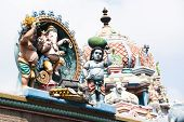stock photo of meenakshi  - Hindu religious art - JPG