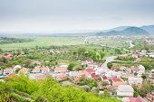 foto of zakarpattia  - Mukachevo view city located in the Zakarpattia Oblast  - JPG