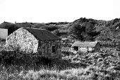 Rustic Stone Buildings In County Donegal Ireland