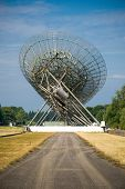 Radio Telescopes  In Westerbork, The Netherlands
