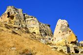 image of cave-dweller  - Probably the best known feature of Cappadocia - JPG